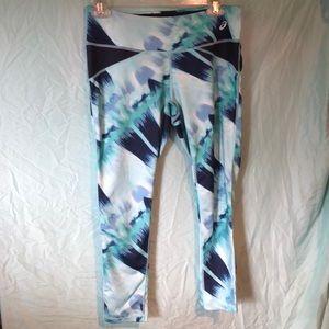 Pants - Multicolored Cropped Leggings